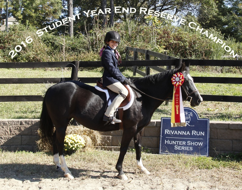 2016 Student Hunter eq res champ